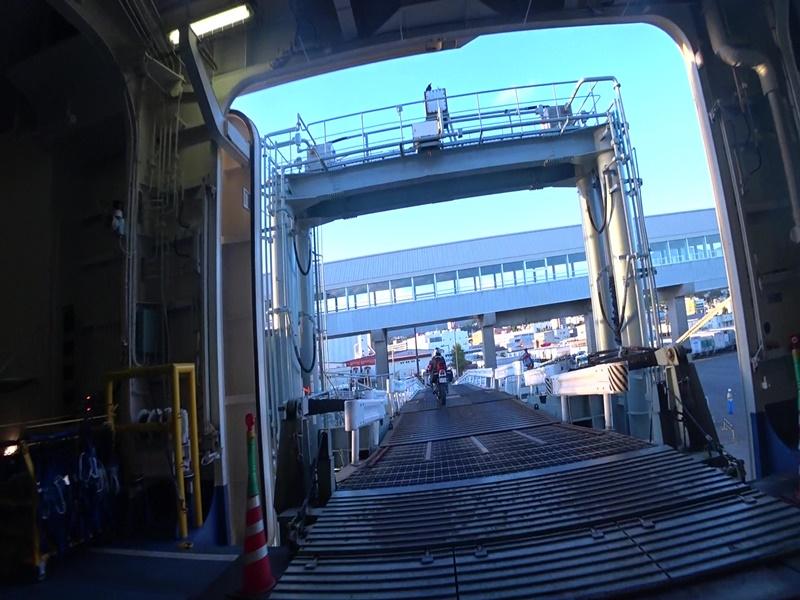 フェリー 小樽港
