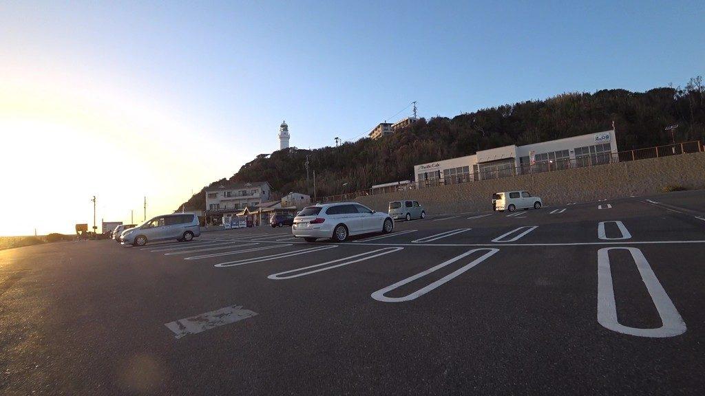 御前崎灯台 駐車場