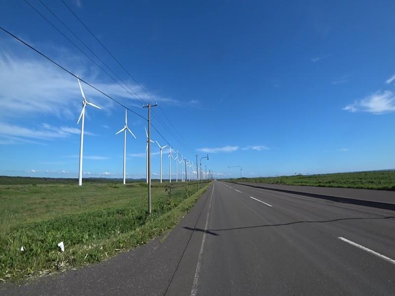 オロロンライン・オトンルイ風力発電所
