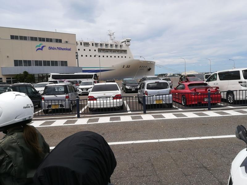 新潟 フェリー乗り場