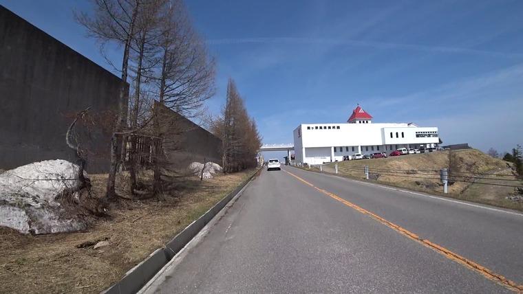 日本一高い位置にある道の駅美ヶ原高原に到着