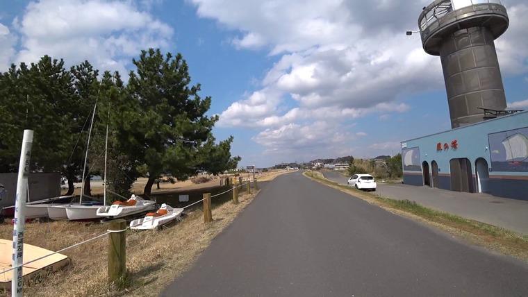 天王崎公園に着きました。
