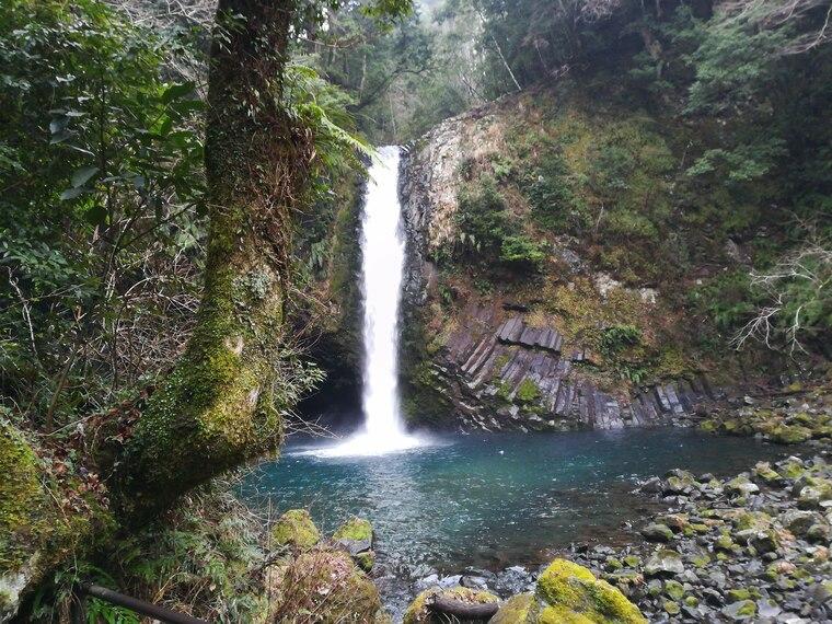 浄蓮の滝は伊豆最大級の名瀑です