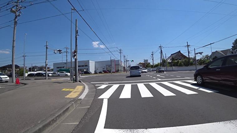 国道4号→国道400号へ