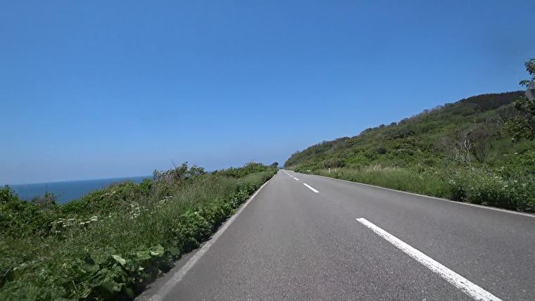 入道崎に向かう道もとても気持ちよく走れます
