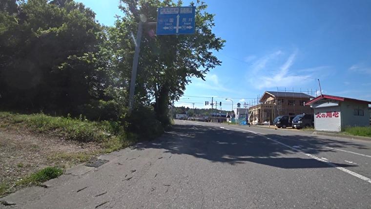 山形県道250号→置賜西部広域農道へ