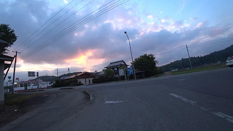 秋田県道149号(出羽グリーンロード)→国道341号へ