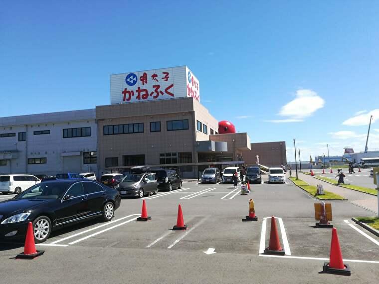 明太子製造の老舗「かねふく」が運営する明太子のテーマパーク「めんたいパーク大洗」に向かいます