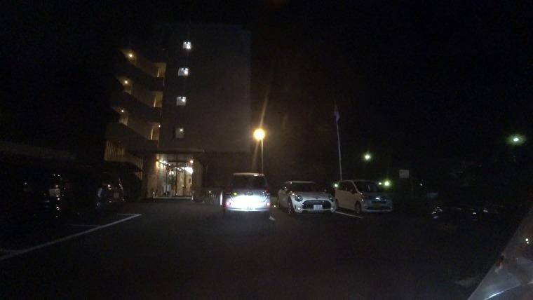 今日の宿ホテル グレイトフル高千穂に到着