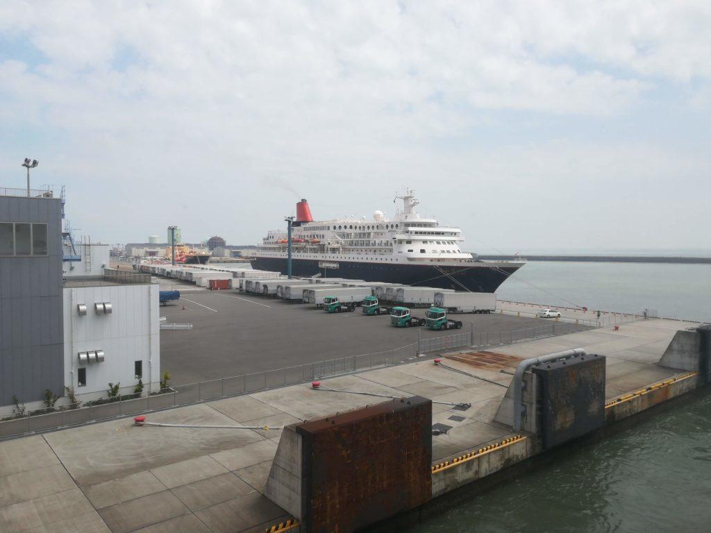 徳島港は11時20分出航で東京には5時10分となります